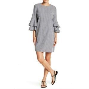 BeachLunchLounge long sleeve ruffle delphina dress